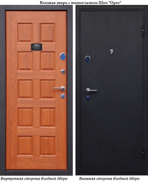 входные двери щитовые дома