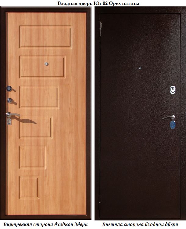 металлические двери эконом класса на юге
